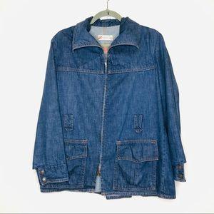 BIG E Levi's Vintage Denim Jacket Pockets Large